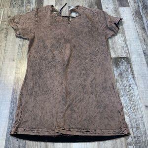 Affliction short sleeve top shirt